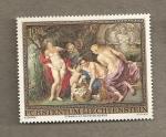 Stamps Europe - Liechtenstein -  Cuadro de Rubens