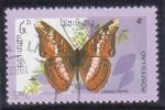 Stamps : Europe : Laos :  MARIPOSA