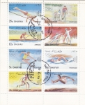 Stamps Oman -  OLIMPIADA MUNICH-72