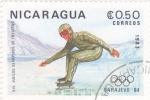 Stamps of the world : Nicaragua :  OLIMPIADA SARAJEVO