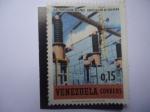 Sellos de America - Venezuela -  Electrificación del País - Subestación de Guayana