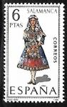 sellos de Europa - España -   Trajes Típicos Españoles - Salamanca