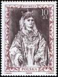 Sellos de Europa - Polonia -  Retratos de los gobernantes polacos