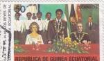 Sellos de Africa - Guinea Ecuatorial -  VIAJE SS.MM.REYES DE ESPAÑA A GUINEA ECUATORIAL
