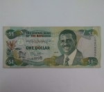 monedas del Mundo : America : Bahamas :  2001 - one dollar