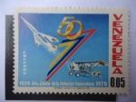 Sellos de America - Venezuela -  Año Jubilar de la Aviación Venezolana 1920-1970