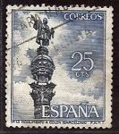 Sellos del Mundo : Europa : España : Monumento Colon