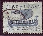 Sellos del Mundo : Europa : Polonia : Barco