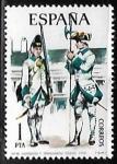 sellos de Europa - España -  Uniformes militares - Sargento y Granadero de Toledo