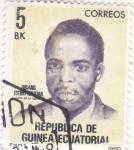 Sellos de Africa - Guinea Ecuatorial -  presidente Obiang Ngema