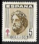 Sellos de Europa - España -  Pro Tuberculosos - Esculapio