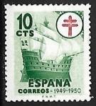 Sellos de Europa - España -  Pro Tuberculosos -