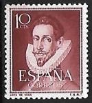 Sellos de Europa - España -  Literatos - Lope de Vega