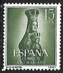 Sellos de Europa - España -  Año Mariano - Ntra. Sra. de Begoña