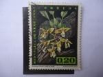 sellos de America - Venezuela -  Orquídea -Stanhopea Wardii Lodd. ex Lindl.