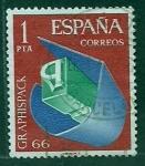 Sellos del Mundo : Europa : España : Graphispack     66