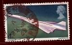 Stamps United Kingdom -  Avion