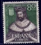Sellos del Mundo : Europa : España : Jaime   I