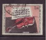Stamps France -   R. DUFY- el violin rojo
