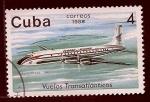 Sellos del Mundo : America : Cuba : Avion