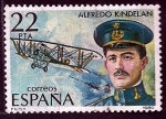 Sellos de Europa - España -  Avion  Hepoca