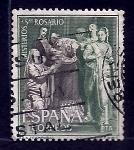 Sellos del Mundo : Europa : España : Misterios del rosario