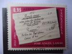 Sellos de America - Venezuela -  José Ángel Lamas (1775-1814)- Sesquicentenario de su Muerte, 1814 al 1964