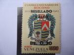Sellos de America - Venezuela -  Escudo de Armas de Boconó-Trujillo - Cuatricentenario de Boconó