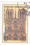 Stamps : Africa : Madagascar :  NOTRE-DAME-PARIS