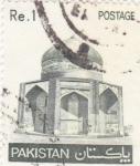 Stamps Pakistan -  MAUSOLEO