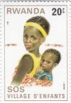 Stamps Rwanda -  SOS- infancia
