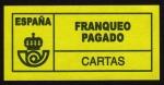 Stamps Spain -  COL- FRANQUEO PAGADO-CARTAS