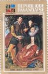 Stamps : Africa : Rwanda :  pntura- Rubens e Isabelle Brandt