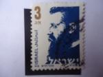 sellos de Asia - Israel -  Théodore Herzl (1860-1904) - Fundador del Sionismo (1897)