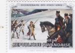 Stamps Rwanda -  Bicentenario de los Estados Unidos 1776-1976
