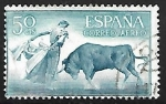 Stamps : Europe : Spain :  Fiesta nacional de Tauromaquia -  Farol