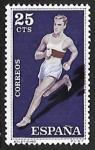 Stamps Spain -  Deportes - Atletismo