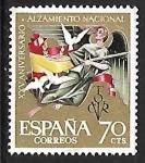 Stamps : Europe : Spain :  XXV aniversario del Alzamiento Nacional - Alegoría de la paz