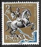 Stamps : Europe : Spain :   XXV aniversario del Alzamiento Nacional - Batalla del Ebro