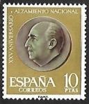 Sellos de Europa - España -   XXV aniversario del Alzamiento Nacional - General Franco