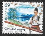 Sellos del Mundo : Europa : Serbia : 543 - Europa, Instrumento de viento