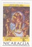 Sellos del Mundo : America : Nicaragua : 500 aniversario  de Michelangelo