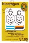 Stamps Nicaragua -  Solidaridad Internacional con Nicaragua