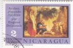 Stamps Nicaragua -  Arabes Jugando al Ajedrez
