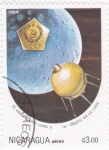 Sellos del Mundo : America : Nicaragua : aeronautica- 25 aniversario Luna II