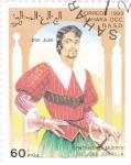 Sellos del Mundo : Africa : Marruecos : Centenario muerte de José Zorrilla