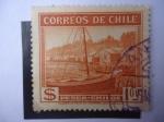 Stamps Chile -  Pesca en la Isla Grande de CHiloé