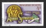 Sellos de Europa - Hungría -  Dr. Albert Schweitzer, Premio Nobel de la Paz