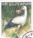 Sellos del Mundo : Europa : Bulgaria : ave- cigüeña