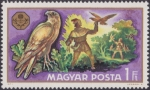 Stamps Hungary -  Caza y Pesca